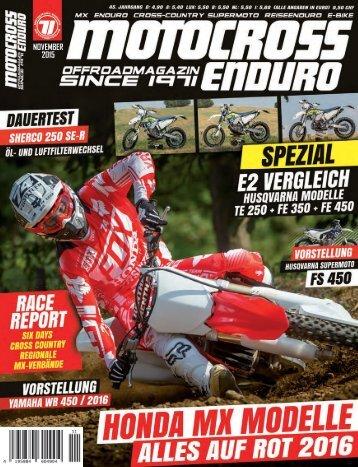 Motocross Enduro - 11/2015