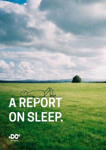 ON SLEEP