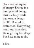 ON SLEEP - Page 2
