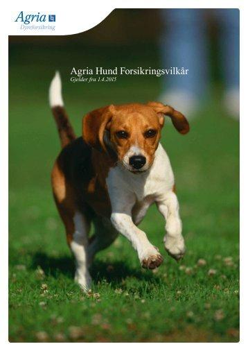 Agria Hund Forsikringsvilkår