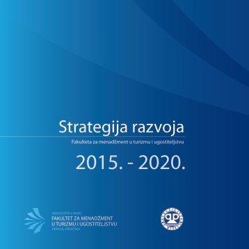 FMTU - STRATEGIJA RAZVOJA 2015. - 2020.