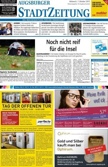Augsburg - City 07.10.15