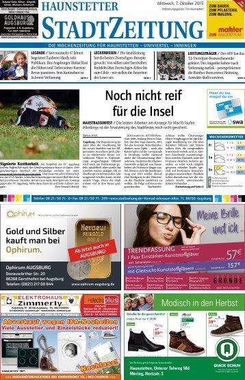 Augsburg - Haunstetten 07.10.15
