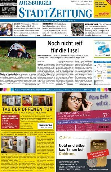 Augsburg - Süd-Ost 07.10.15