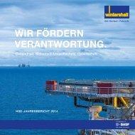 Wintershall HSE-Jahresbericht