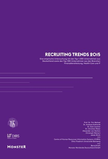 RECRUITING TRENDS 2015