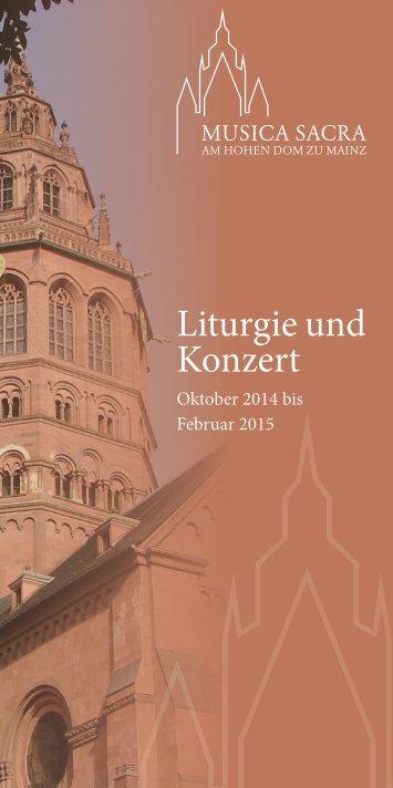 Liturgie und Konzert