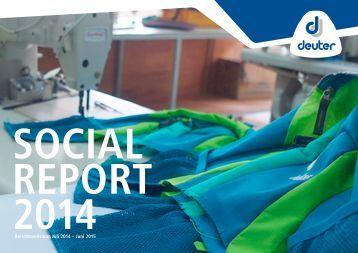 Deuter Social Reports 2014 deutsch