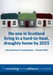 No one in Scotland living in a hard-to-heat draughty home by 2025