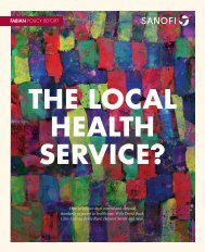 THE LOCAL HEALTH SERVICE?
