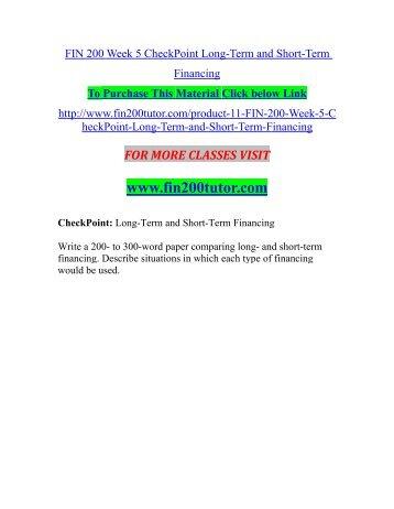 FIN 516 Week 7 Homework