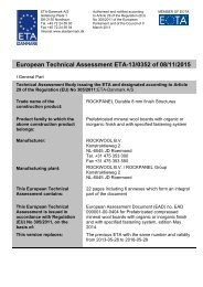 European Technical Assessment ETA-13/0352 of 08/11/2015