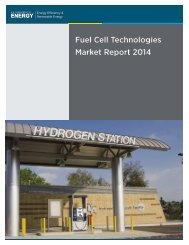 Fuel Cell Technologies Market Report 2014
