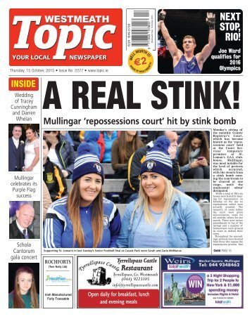 Westmeath Topic- 15 October 2015