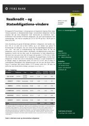 Realkredit – og Statsobligations-vindere