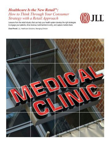 JLL Healthcare Retail Whitepaper 2015-10