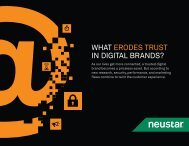 WHAT ERODES TRUST IN DIGITAL BRANDS?