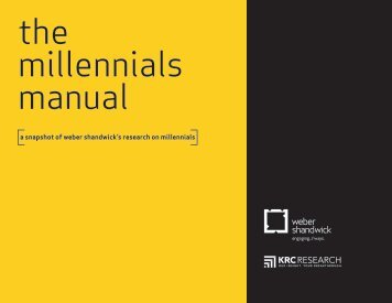 millennials manual