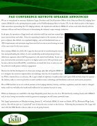 PAII newsletter October 2015 - Page 6