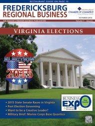 October Fredericksburg Regional Business