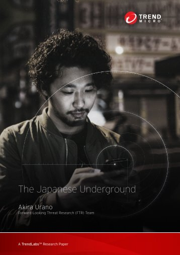 The Japanese Underground