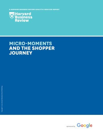 AND THE SHOPPER JOURNEY
