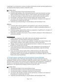 Programme-specific Section of the Curriculum for the MSc Programme in - Page 5