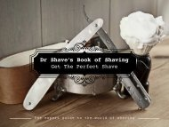 The expert guide to the world of shaving