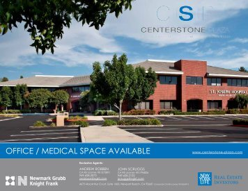 OFFICE / MEDICAL SPACE AVAILABLE