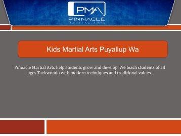 Kids Martial Arts Puyallup Wa