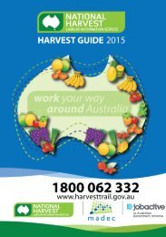 NATIONAL HARVEST GUIDE