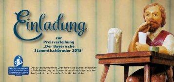 Einladung Stammtischbruder 2015