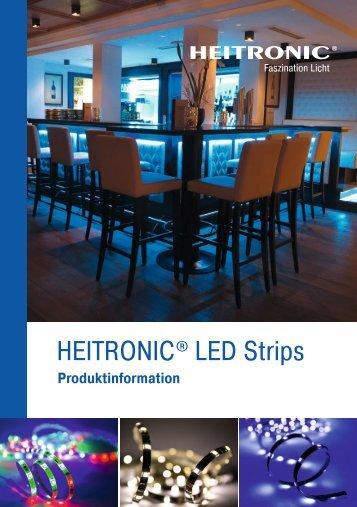 HEITRONIC – Prospekt LED Strips