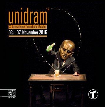 Unidram Programmheft 2015