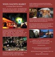 Wein-Nachts-Markt Marienthal 2015