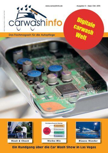 carwashinfo Magazin 05 / 2015