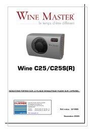Wine C25/C25S(R) - Günther Kälte-Klima GmbH