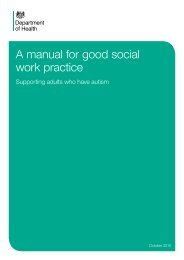 A manual for good social work practice