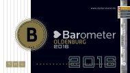 BAROMETER OLDENBURG | Limitierte Ausgabe 2016