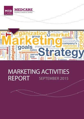 Medcare Marketing September Report
