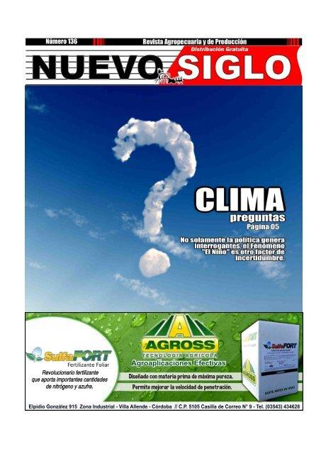 Revista Agropecuaria Nuevo Siglo Número 136 - Octubre 2015
