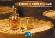 WHISKEYS FROM THE CASK