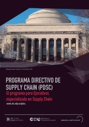 PROGRAMA DIRECTIVO DE SUPPLY CHAIN (PDSC)