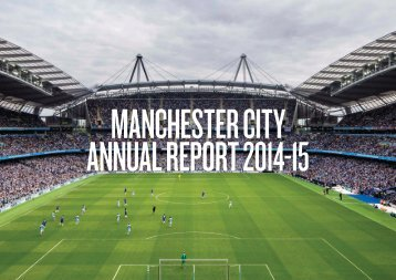 MANCHESTER CITY ANNUAL REPORT 2014-15