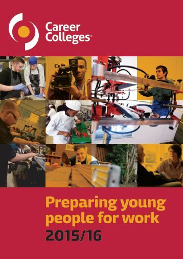 Preparing young people for work 2015/16