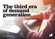 of demand generation