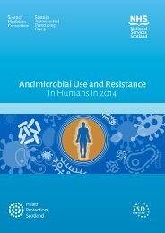Antimicrobial Use and Resistance in Humans in 2014