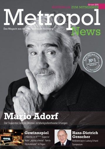 Metropol News Oktober 2015