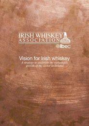 Vision for Irish whiskey