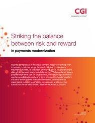 Striking the balance between risk and reward